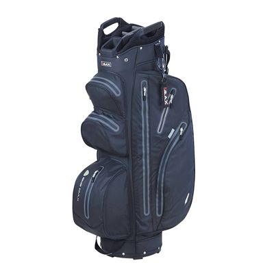 Big Max I-Dry Aqua M Cart Bag-Black and Charcoal