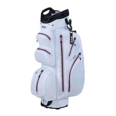 Big Max I-Dry Aqua M Cart Bag-White and Pink