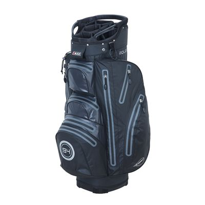 Big Max I-Dry Aqua O Cart Bag-Black and Charcoal