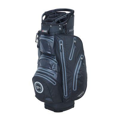 Big Max I-Dry Aqua O Cart Bag-Black and Charcoal