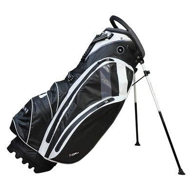 Big Max I-Dry Stand Bag - Black/White