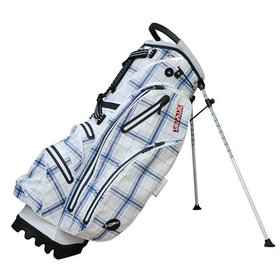 Big Max I-Dry Stand Bag - White/Blue