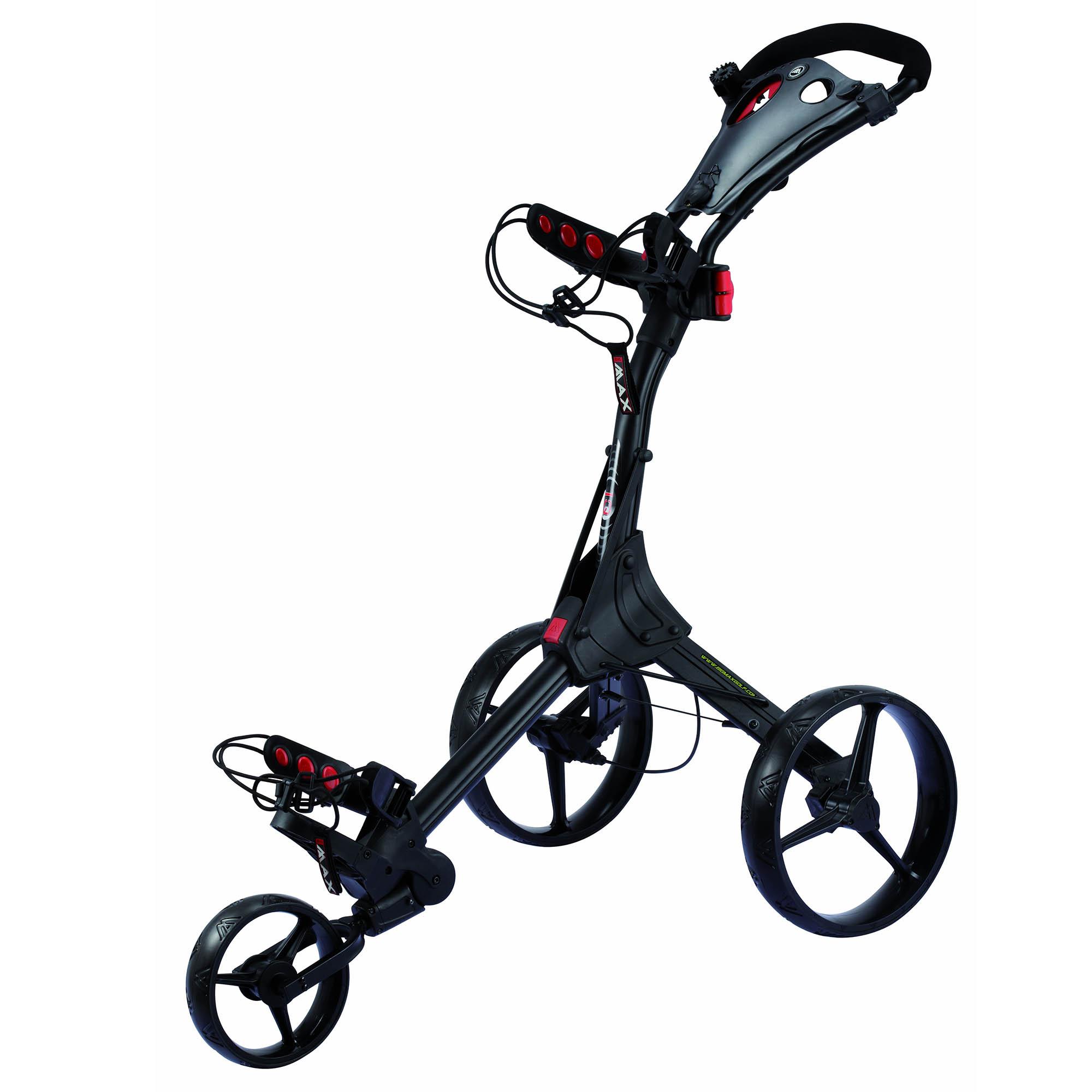 Big Max IQ Golf Trolley – Black