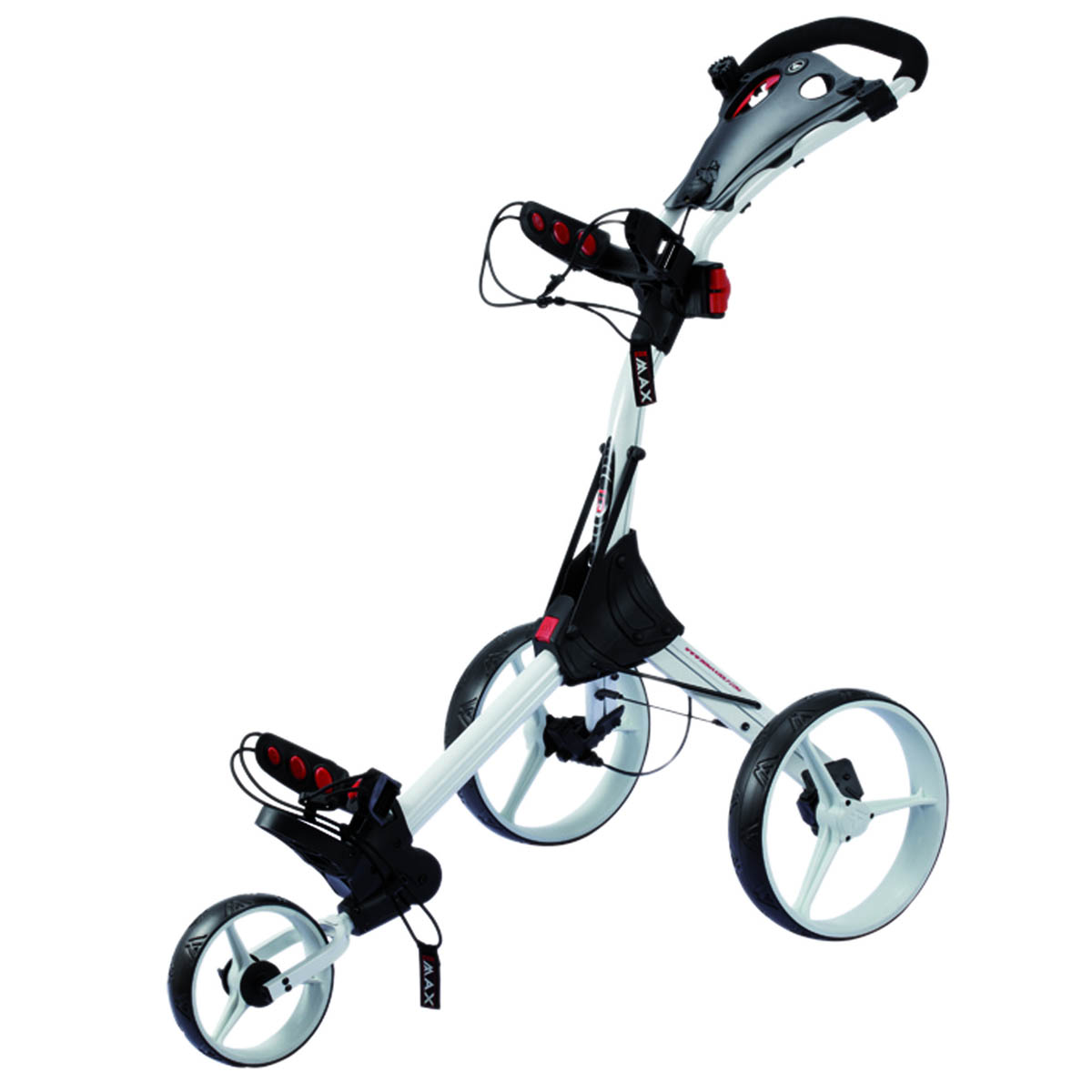 Big Max IQ Golf Trolley – White