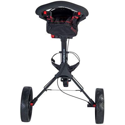 Big Max IQ Plus Golf Trolley - Black Back