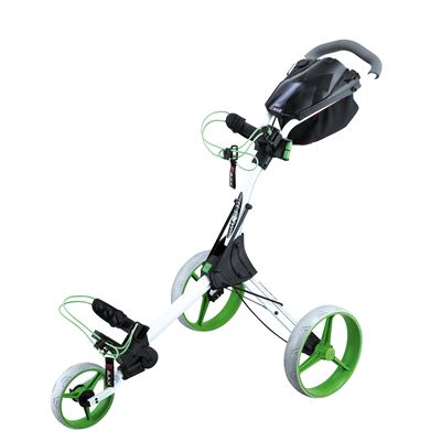 Big Max IQ Plus Golf Trolley - White and Lime