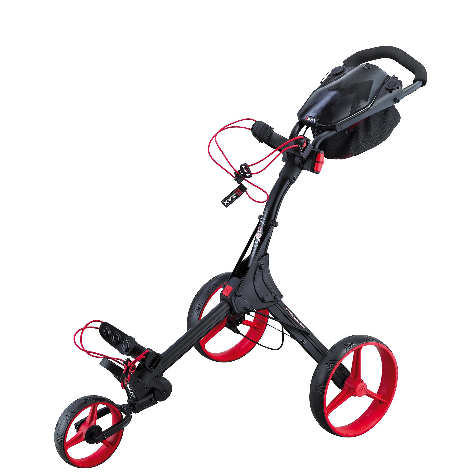 Big Max IQ Plus Golf Trolley – Black/Red