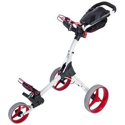 Big Max IQ Plus Golf Trolley White - Red