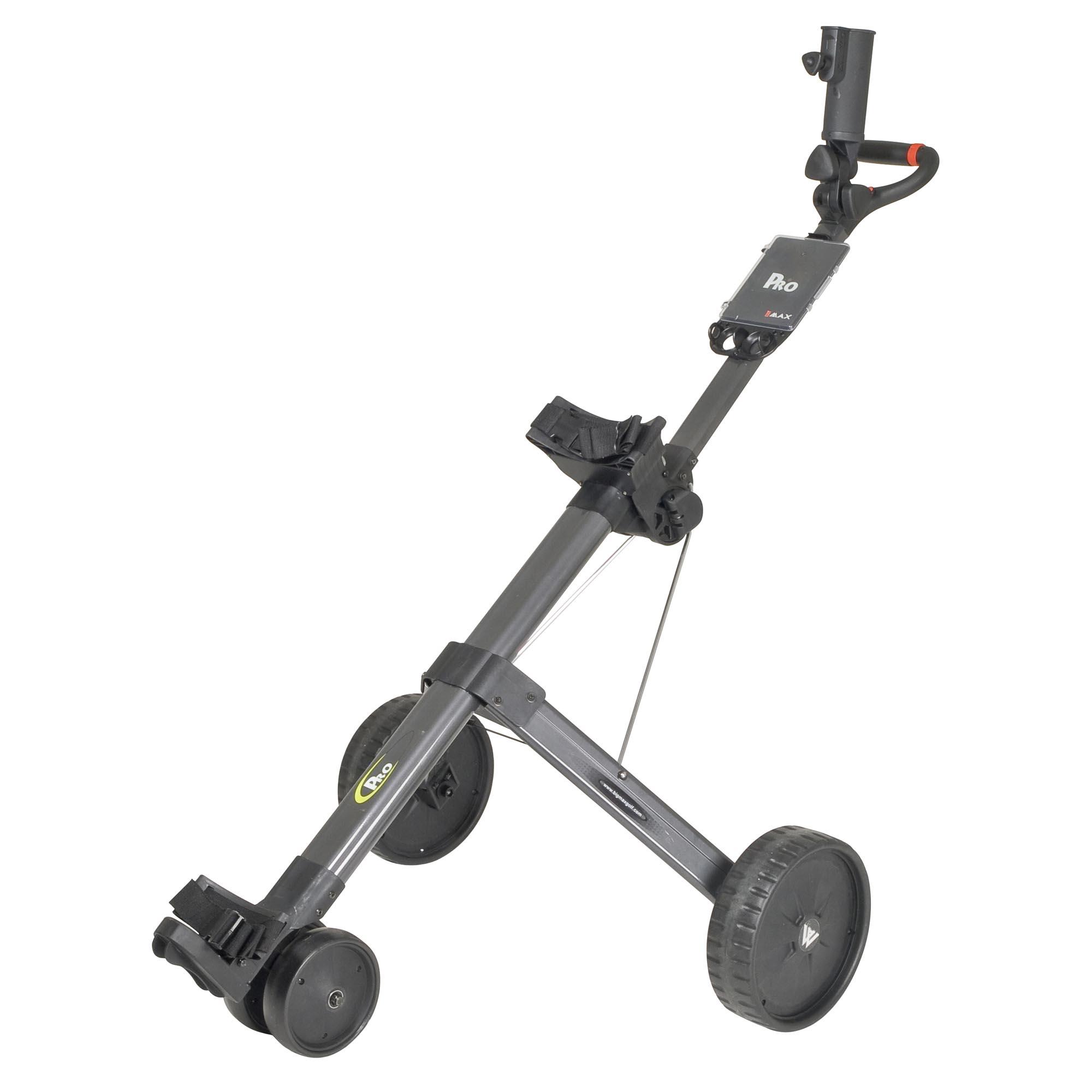 Big Max Pro Electric Golf Trolley  Black