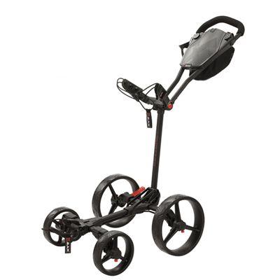 Big Max Quattro Golf Trolley - Black