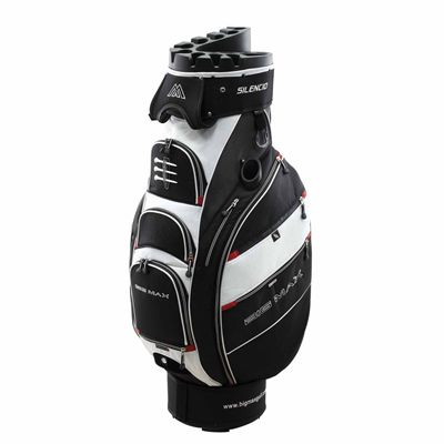 Big Max Silencio Cart Bag - Black/White