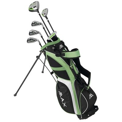Big Max Supermax Junior Golf Set-RH and LH-6-8 years-Green