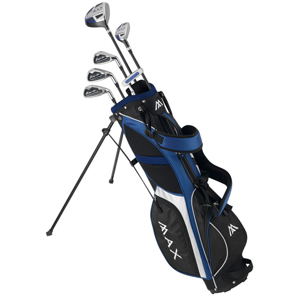 Big Max Supermax Junior Golf Set  Blue Right Hand
