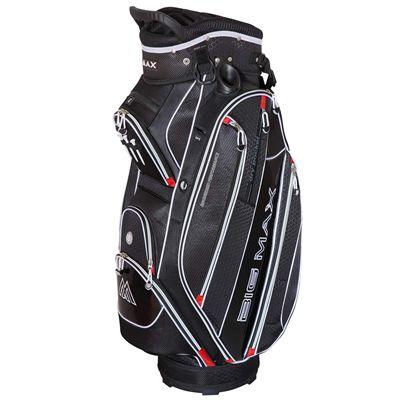 Big Max Terra 5 Plus Cart Bag - Black