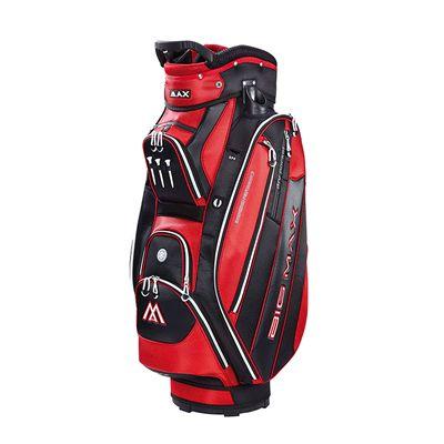 Big Max Terra 5 Plus Cart Bag - Red and Black
