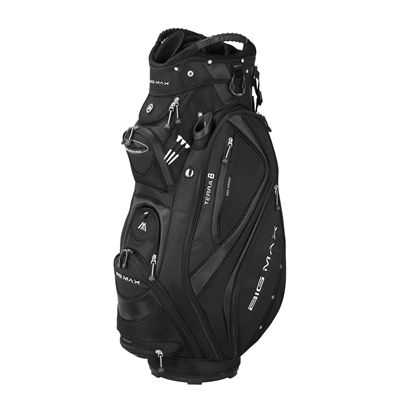 Big Max Terra 8 Cart Bag - Black