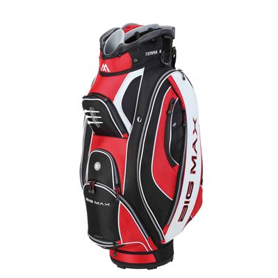 Big Max Silencio Cart Bag - Red/White