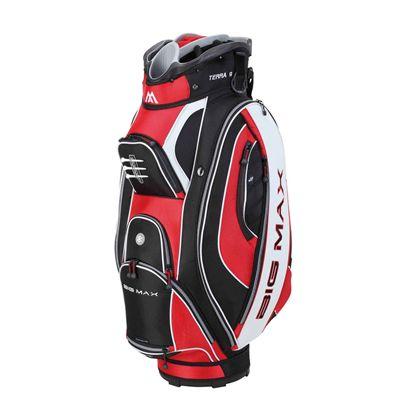 Big Max Silencio Cart Bag - Red/White