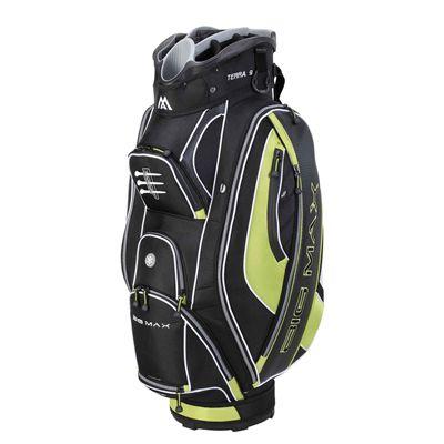 Big Max Terra 9 Cart Bag - Black/Green