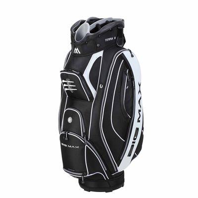 Big Max Terra 9 Cart Bag - Black