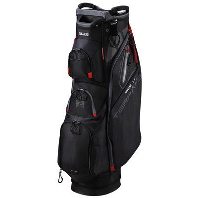 Big Max Terra 9 Golf Cart Bag - Black - Side
