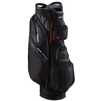 Big Max Terra 9 Golf Cart Bag - Black