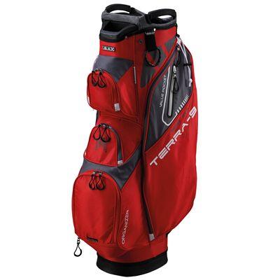 Big Max Terra 9 Golf Cart Bag - Red