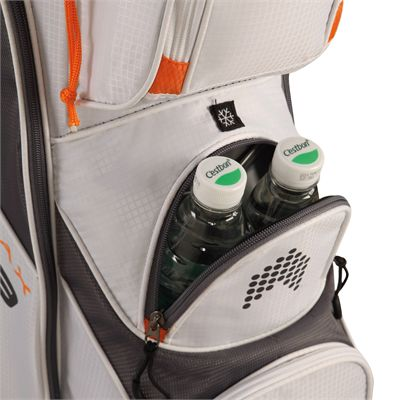 Big Max Terra 9 Golf Cart Bag - White - Side - Zoom1
