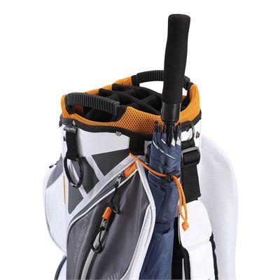 Big Max Terra 9 Golf Cart Bag - White - Side - Zoom2