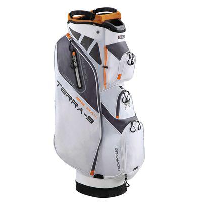 Big Max Terra 9 Golf Cart Bag - White