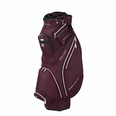 Big Max Terra Lite II Cart Bag - Aubergine