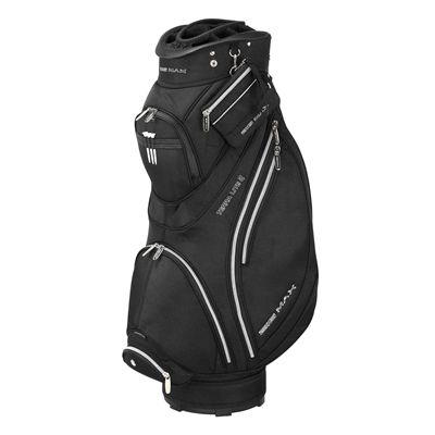 Big Max Terra Lite II Cart Bag - Black