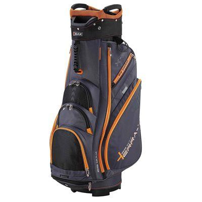 Big Max Terra X2 Cart Bag - BlackOrange