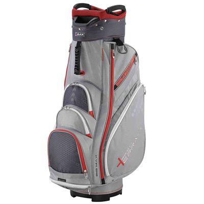 Big Max Terra X2 Cart Bag - Silver/Red