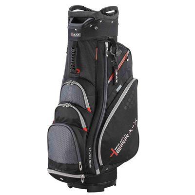 Big Max Terra X2 Cart Bag  - Black/Red