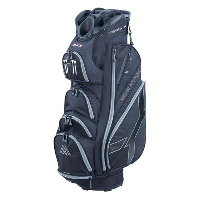 Big Max Terra X Cart Bag-Black and Charcoal