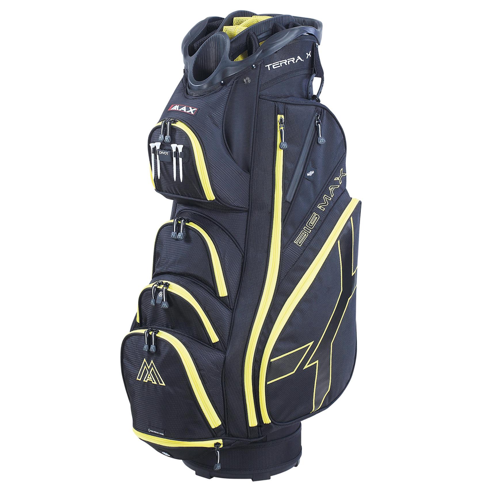 Big Max Terra X Cart Bag  BlackYellow