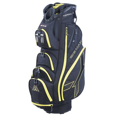 Big Max Terra X Cart Bag-Black and Yellow