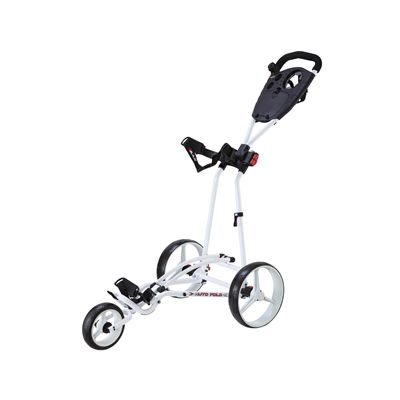 Big Max TI 1000 Autofold Golf Trolley-White