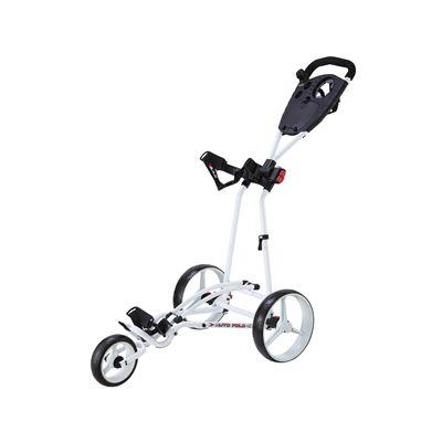Big Max TI 1000 Autofold Golf Trolley-White
