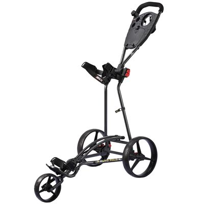 Big Max TI 1000 Autofold Golf Trolley - Black