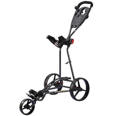 Big Max TI 1000 Autofold Golf Trolley - Black