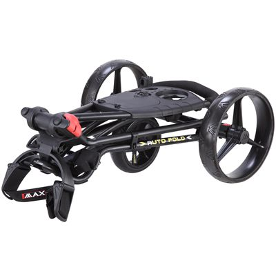 Big Max TI 1000 Autofold Golf Trolley - Black Folding