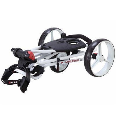 Big Max TI 1000 Autofold Golf Trolley - White Folding