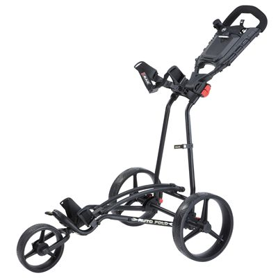 Big Max TI 1000 Plus Autofold Golf Trolley-Black