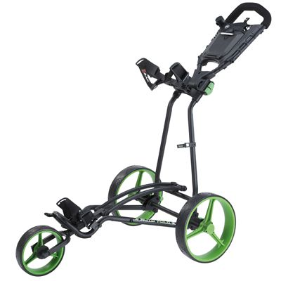 Big Max TI 1000 Plus Autofold Golf Trolley-Black and Lime