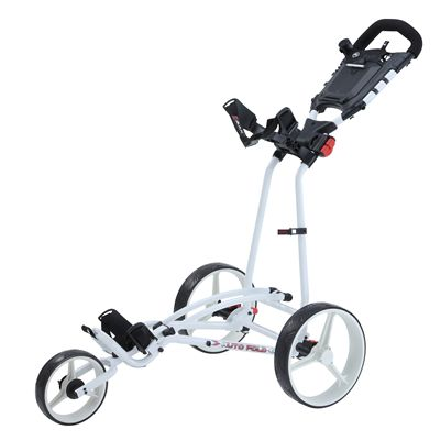 Big Max TI 1000 Plus Autofold Golf Trolley-White