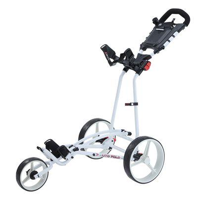 Big Max TI 1000 Plus Autofold Golf Trolley-White