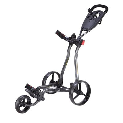 Big Max TI 2000 Plus Golf Trolley - Black