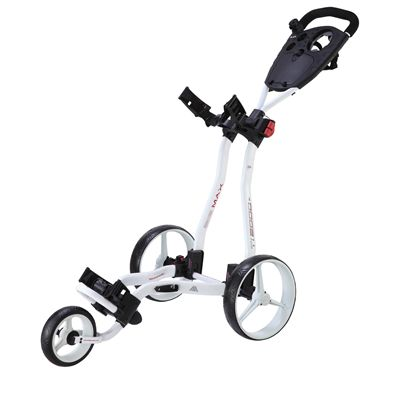 Big Max TI 2000 Plus Golf Trolley - White
